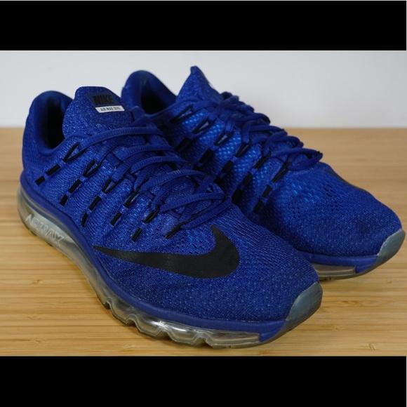 3c90c142eb Nike Shoes | Air Max 2016 Deep Royal Blue Black Racer | Poshmark